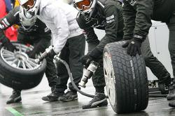 Mercedes-Teammitglieder