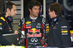Mark Webber, Red Bull Racing and Christian Horner, Red Bull Racing, Sporting Director