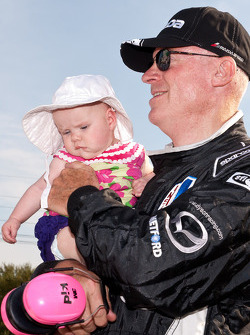 Rob Dyson with granddaughter Leona