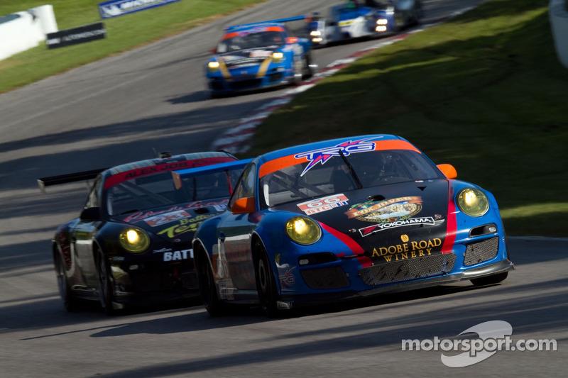 Duncan Ende and Spencer Pumpelly, Porsche 911 GT3 Cup