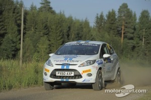 Alastair Fisher and Daniel Barrit, Ford Fiesta R2 during Rally Finalnd