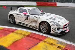#55 Graff Racing Mercedes SLS AMG: Mike Parisy, Gilles Vannelet, Philippe Haezebrouck, Massimo Vignali