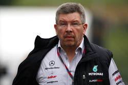 Ross Brawn, Mercedes GP, Director técnico