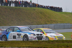 Mehdi Bennani BMW 320 TC, Proteam Racing and Darryl O'Young, Chevrolet Lacetti, bamboo-engineering