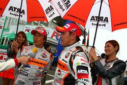 GT300 3rd prace: #43 Arta Garaiya: Shinichi Takagi, Kosuke Matsuura