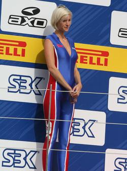 SBK podium girl