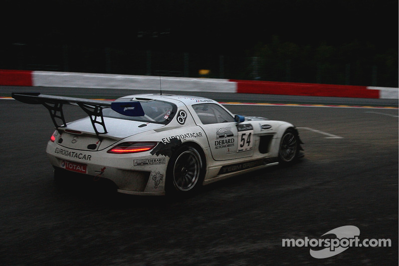 #54 Graff Racing Mercedes SLS AMG: Olivier Panis, Nicolas Lapierre, Grégoire Demoustier, Eric Debard