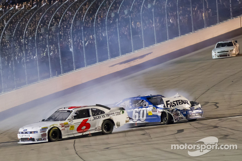Iowa 2011: Nationwide-Crash-Finish mit Ricky Stenhouse