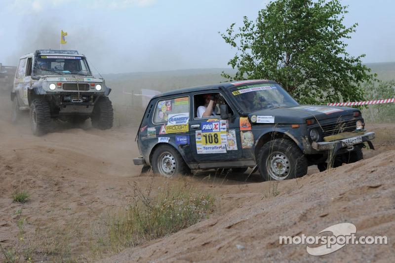 On the 'Dakar; stage