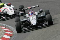 third place Kevin Magnussen, Carlin, Dallara F308 Volkswagen, Nigel Melker, Mucke Motorsport, Dallara F308 Mercedes
