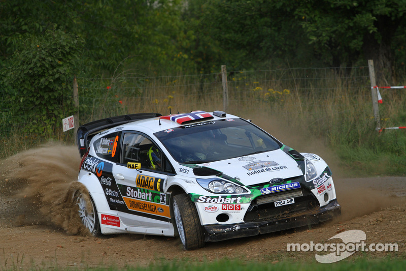 Mads Ostberg e Jonas Andersson, Ford Fiesta RS WRC, M-Sport Stobart Ford World Rally Team