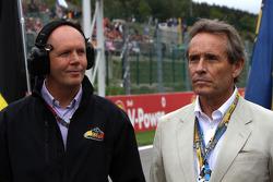 Eric van de Poele and Jacky Ickx