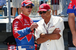 Graham Rahal, Service Central Chip Ganassi Racing with Don Prudhomme