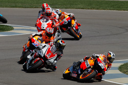 Dani Pedrosa, Repsol Honda Team y Jorge Lorenzo, Yamaha Factory Racing