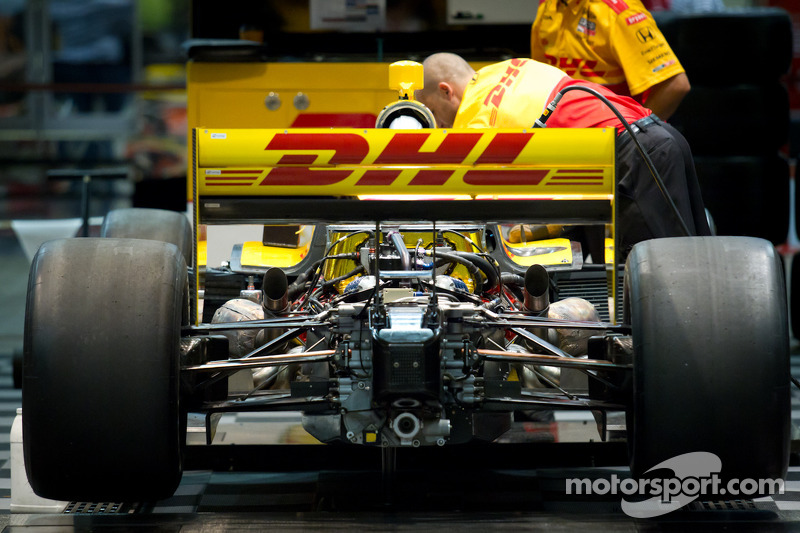 Car of Ryan Hunter-Reay, Andretti Autosport