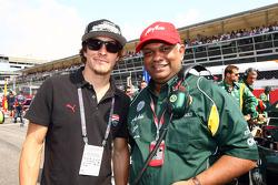 Nicky Hayden, MotoGP rider and Tony Fernandes