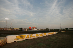 The back straight of Silver Dollar Speedway