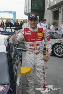 Pole winner Miguel Molina, Audi Sport Team Abt Junior, Audi A4 DTM