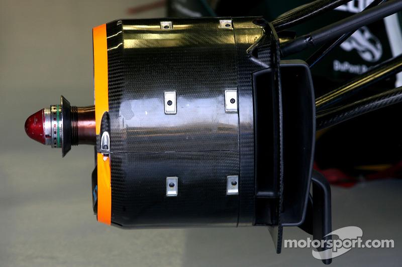Team Lotus Technical detail brake system