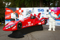 Unveiling of the Deltawing car