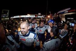 Peugeot Sport Total team members celebrate