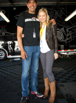 Tomy Drissi with wife Lacy