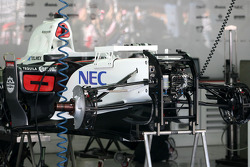 Sauber F1 Team Technical detail
