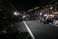 Christian Horner, Red Bull Racing, Sporting Director, Sebastian Vettel, Red Bull Racing and Adrian Newey, Red Bull Racing, Technical Operations Director