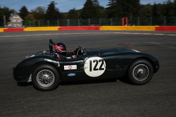 #122 Jaguar C-type: Nick Finburgh, John Clark