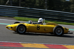 #8 Jan Biekens, Ferrari 156
