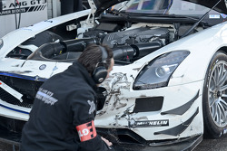 #4 Graff Racing Mercedes-Benz SLS AMG GT3: Philippe Giauque/Thomas Jäger