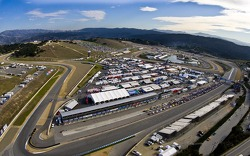 Above Laguna Seca during the Concours on Pit Lan