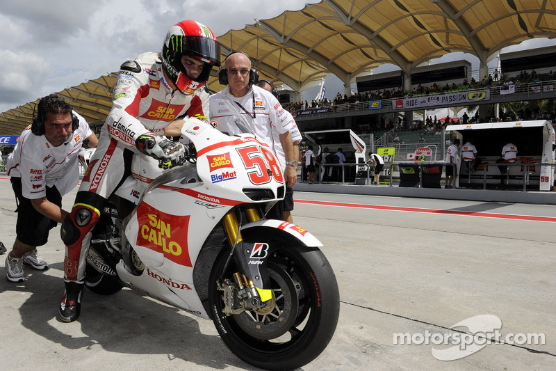 2011: Training in Sepang