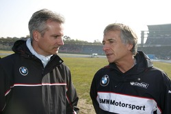 Presentation BMW M3 DTM, Jens Marquardt, BMW Motorsport Director and Charly Lamm, Teammanager BMW Team Schnitzer