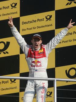 Championship Podium, 2nd Mattias Ekström, Audi Sport Team Abt, Audi A4 DTM