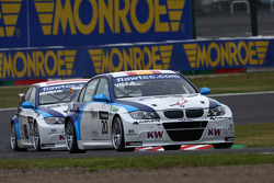 Mehdi Bennani, BMW 320 TC, Proteam Racing and Javier Villa, BMW 320 TC, Proteam Racing