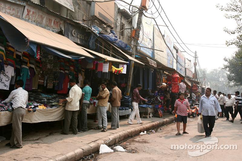 Delhi, city atmosphere