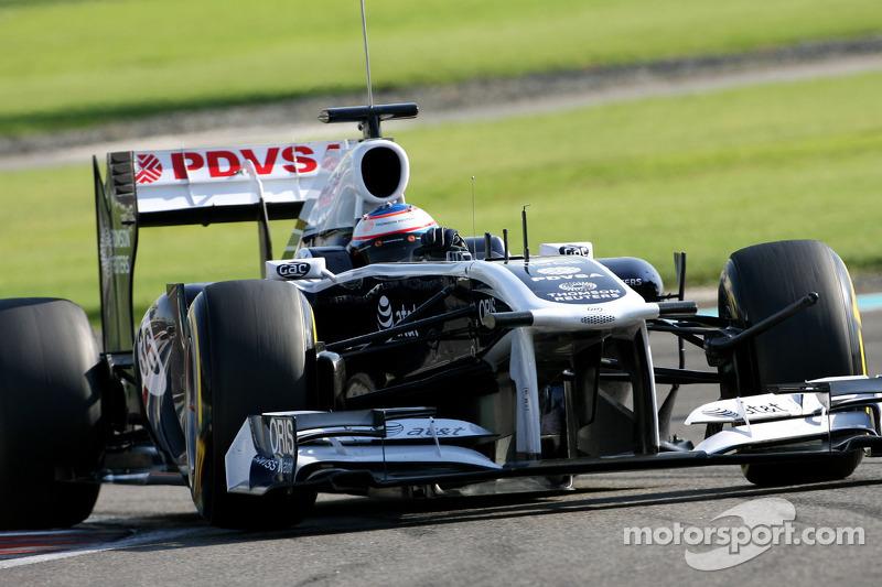 2010-2011: начало сотрудничества с Williams