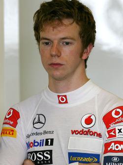 Oliver Turvey, Team McLaren Mercedes