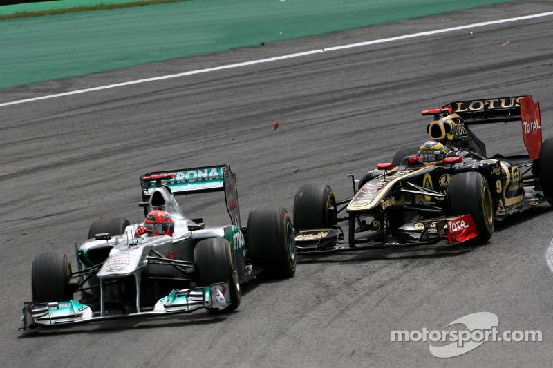 Platz 8 in der Fahrerwertung 2011