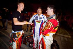 Race winnaar Danny Formal met Ben Cooper