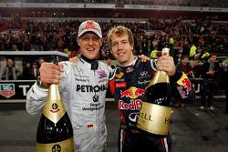Победители: Михаэль Шумахер и Себастьян Феттель