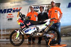 Marc Coma y Joan Pedrero desvelan sus KTM