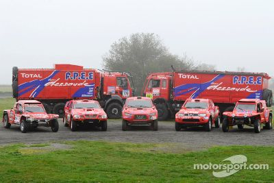 Team Dessoude Dakar presentatie