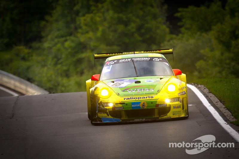 2011: Marc Lieb, Lucas Luhr, Romain Dumas, Timo Bernhard (Porsche 911 GT3 RSR)