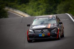 #218 Team AutoArena Motorsport Mercedes-Benz C 230: Hannes Pfledderer, Patrick Assenheimer, Marc Marbach, Robert Schäfer