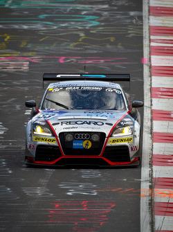 #133 Raeder Motorsport Audi TT RS: Elmar Deegener, Juergen Wohlfarth, Christoph Breuer, Wolfgang Haugg