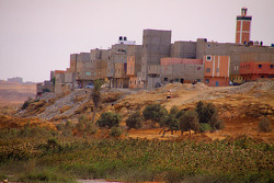 Western Sahara village life