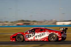 #69 AIM Autosport Team FXDD Racing with Ferrari Ferrari 458: Emil Assentato, Anthony Lazzaro, Nick Longhi, Jeff Segal