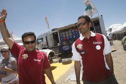 Nasser Al-Attiyah and Lucas Cruz